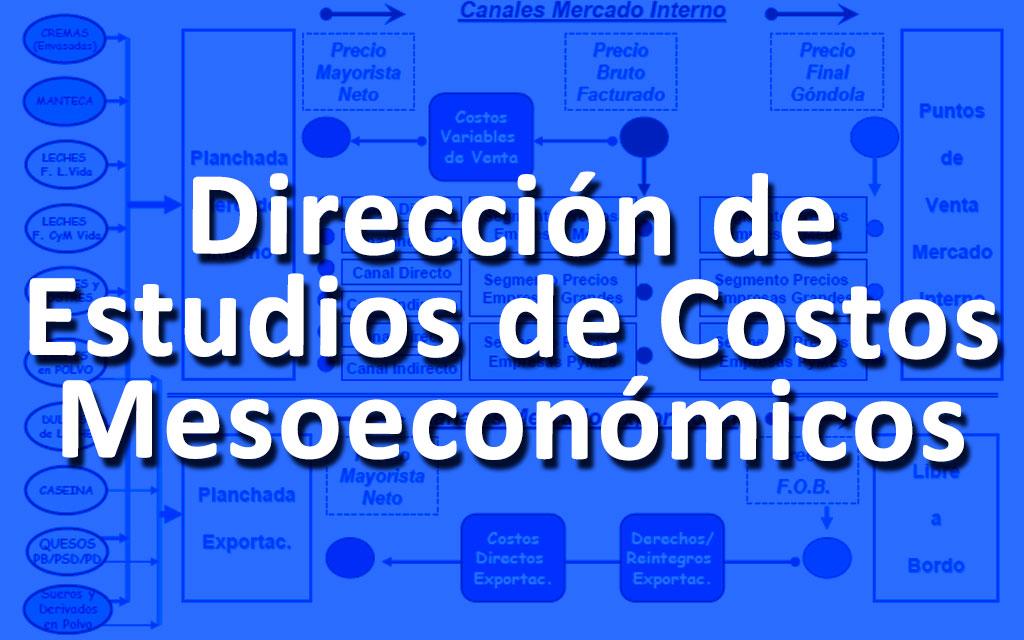 Dirección de Estudios de Costos Mesoeconómicos (DECoM)