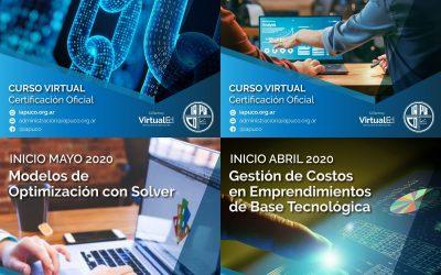 Primera edición de cursos virtuales del IAPUCO