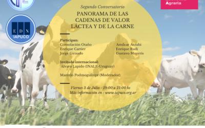 2do. conversatorio: Panorama de las cadenas de valor láctea y de la carne