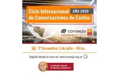 IIC: Ciclo Internacional de Conversaciones de Costos 2020 del CPCECABA