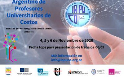 Trabajos del XLIII Congreso Argentino de Profesores Universitarios de Costos: bloques 5 y 6