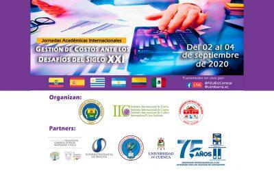 Jornadas Académicas Internacionales (IIC): Gestión de costos ante los desafíos del siglo XXI (2 al 4 de septiembre)
